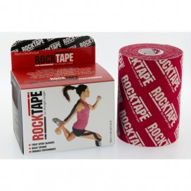 Red Logo - Rocktape BigDaddy (10cm x 5m)